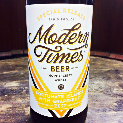 Modern Times Fortunate Islands with Grapefruit