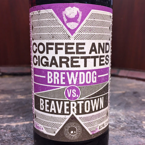 Brewdog vs Beavertown Coffee & Cigarettes