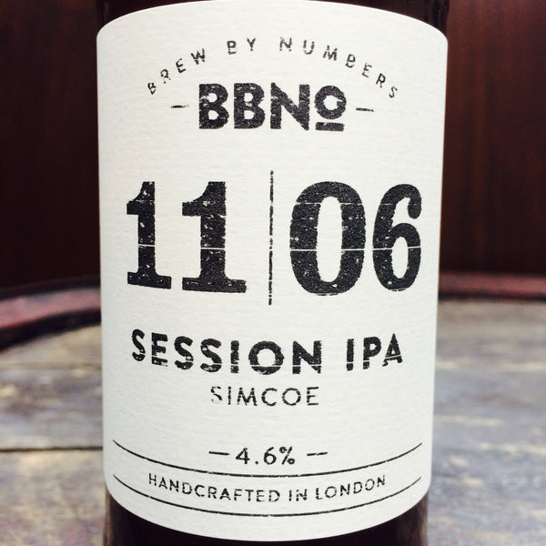 Brew By Numbers Session IPA Simcoe