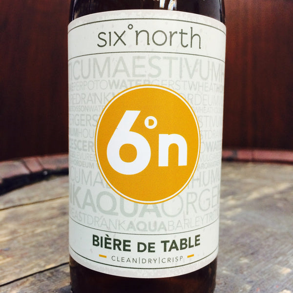 6 Degrees North Biere de Table