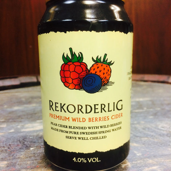 Rekorderling Premium Wild Berries Cider
