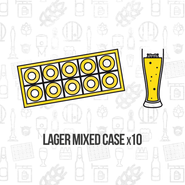 Lager Mixed Case 10