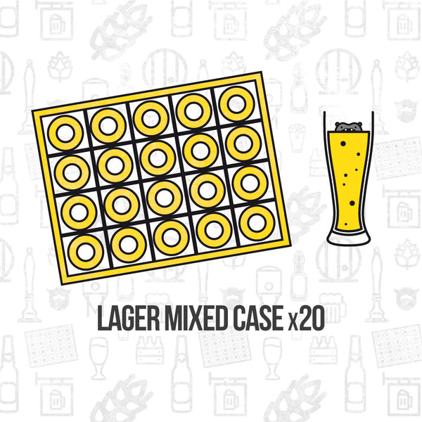 Lager Mixed Case 20
