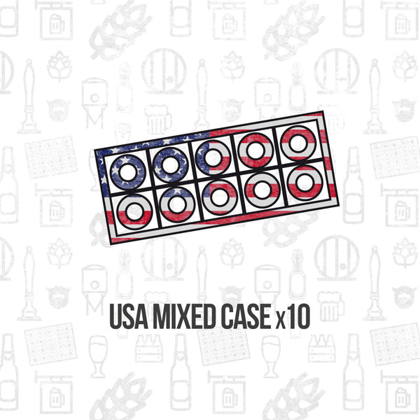 American Mixed Case 10