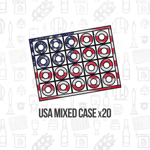 American Mixed Case 20