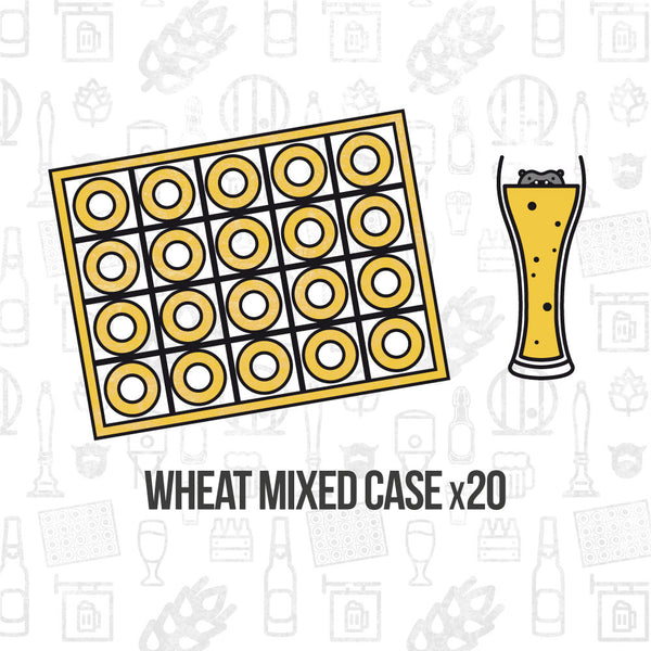 Wheat Beer Mixed Case 20