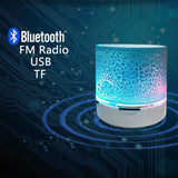 Portable Bluetooth LED Speaker