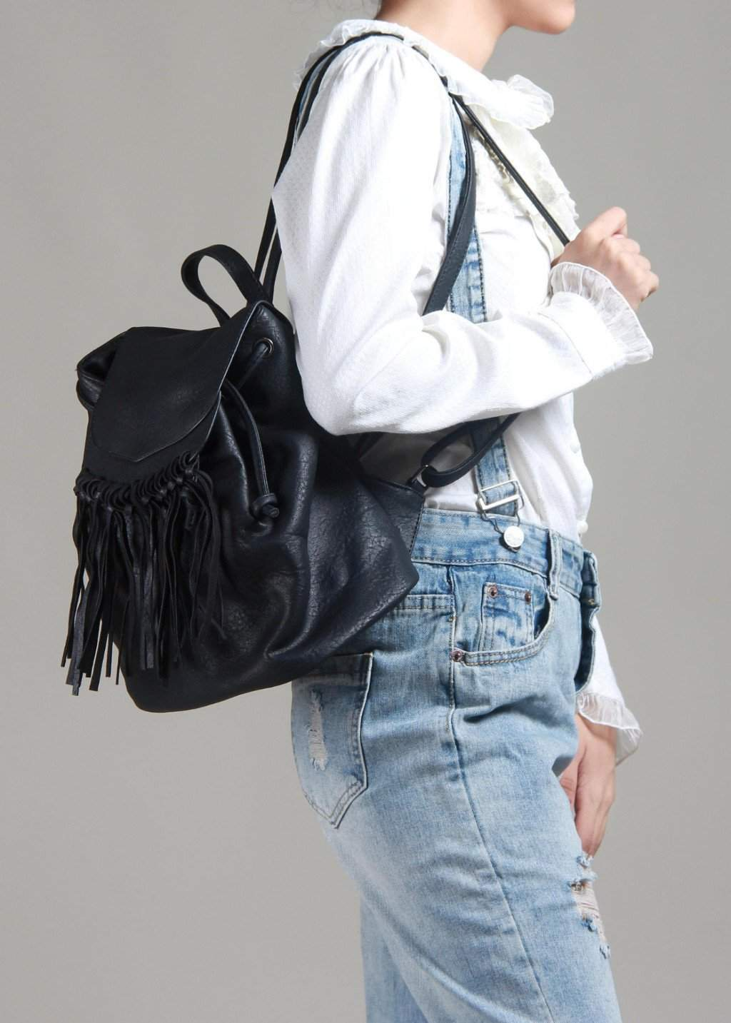 Wowed Don't Ditch The Tassel Backpack