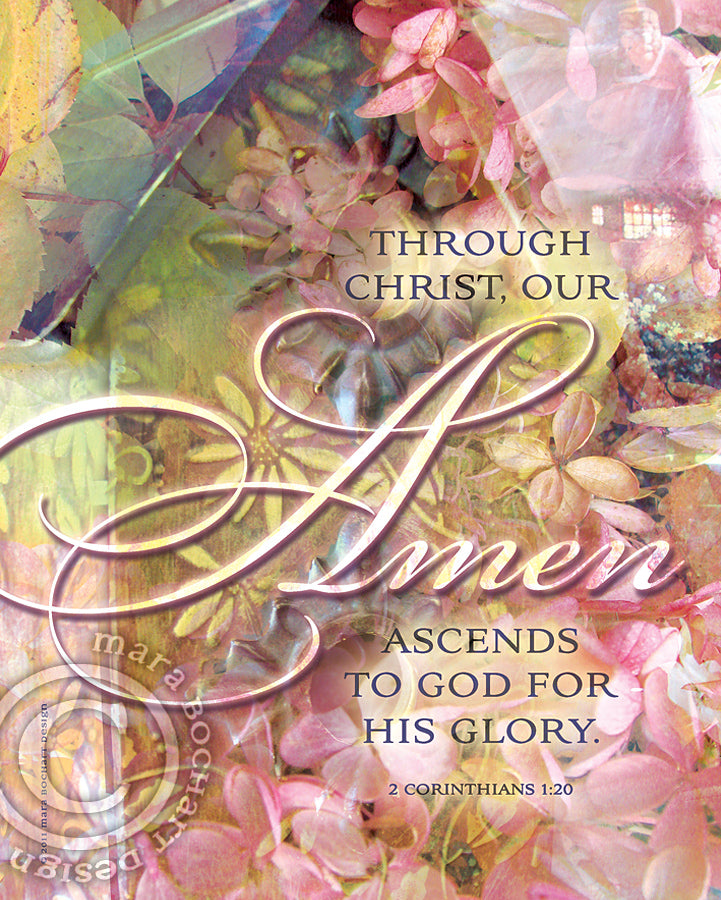 Amen - frameable print