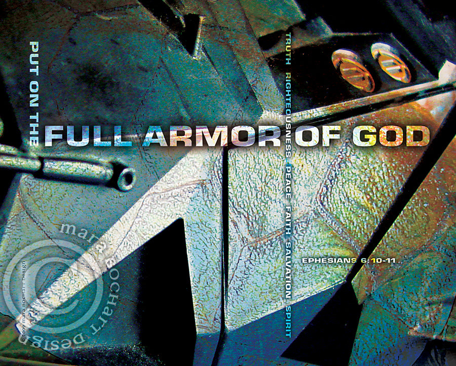 Armor of God - notecard