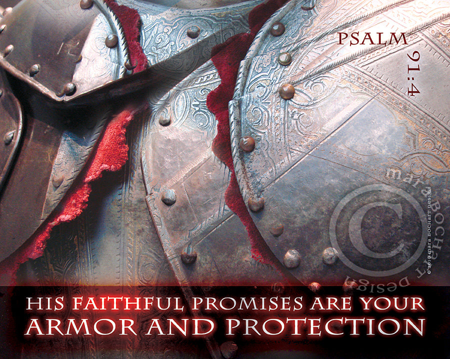 Armor and Protection - premium canvas