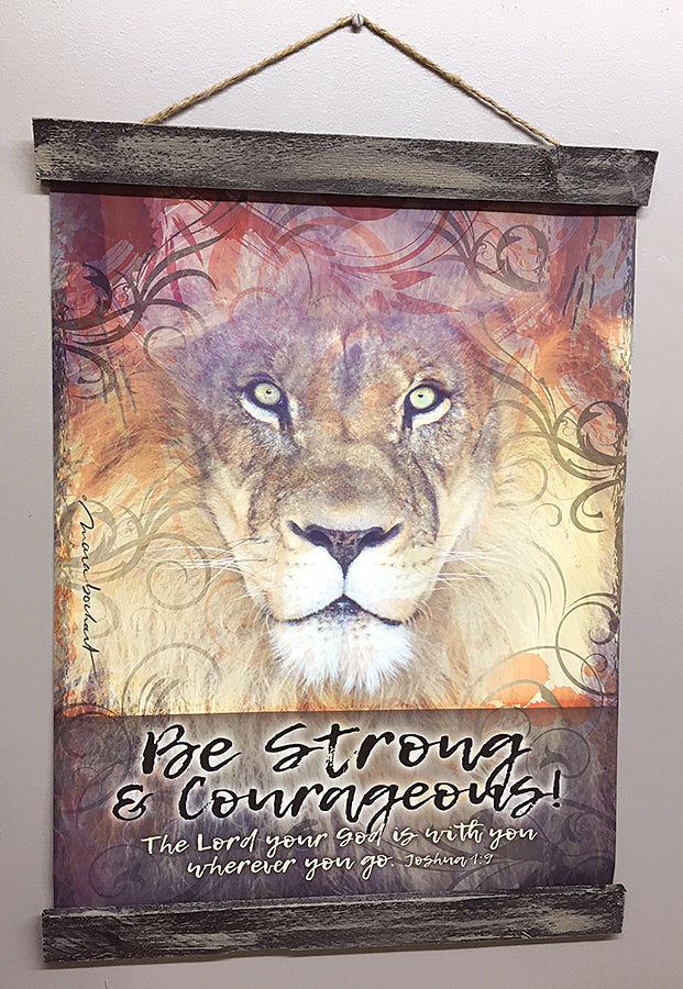 Be Strong - 16x20 hanging banner