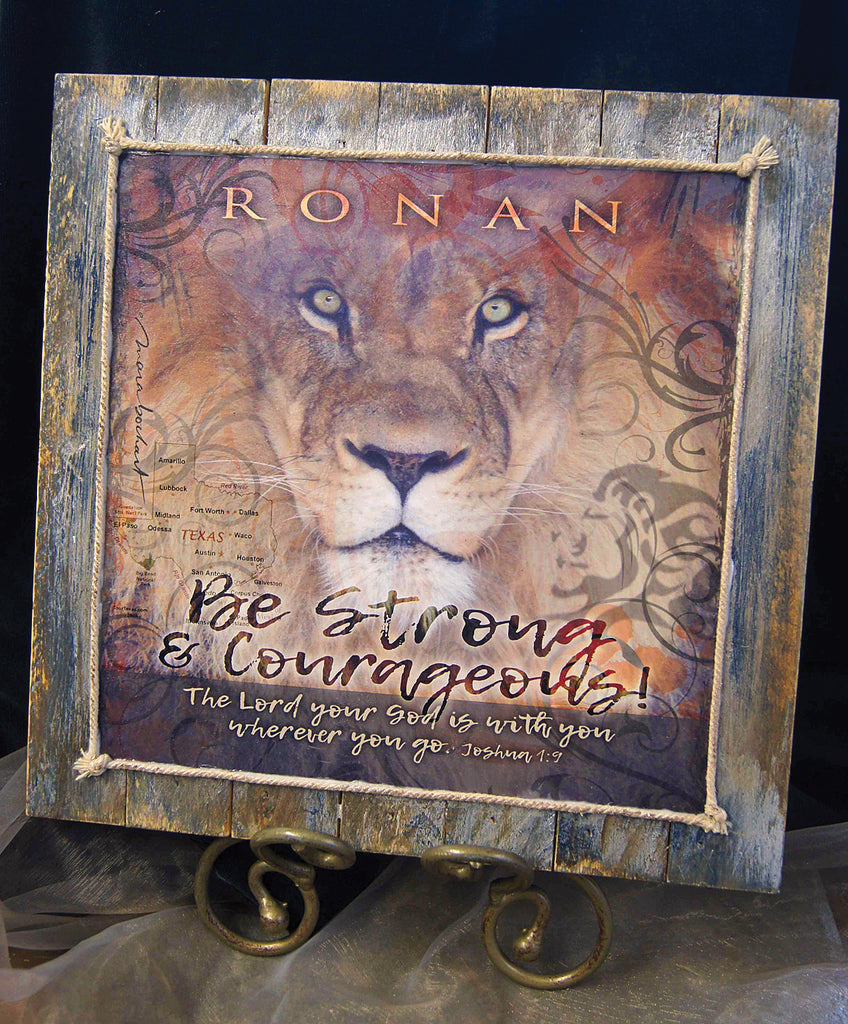 Be Strong - personalized pallet