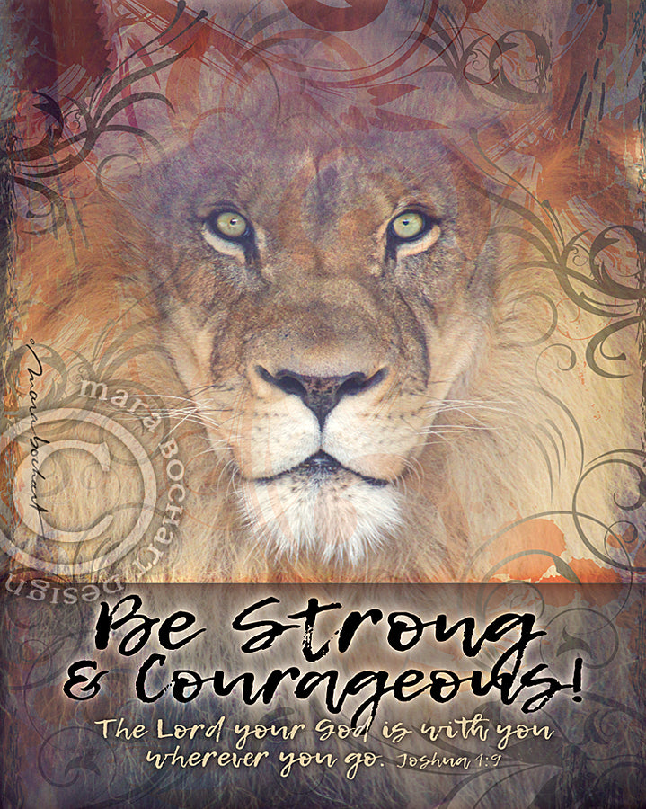 Be Strong - frameable print