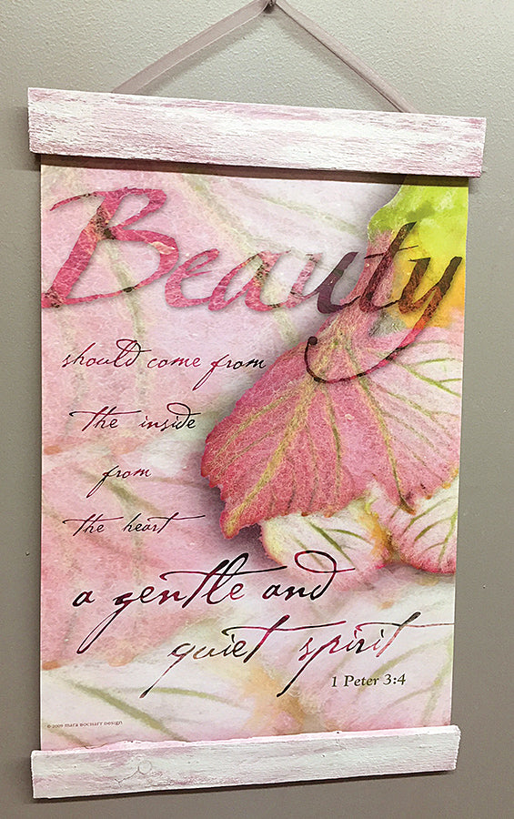 Beauty - 11x14 hanging banner