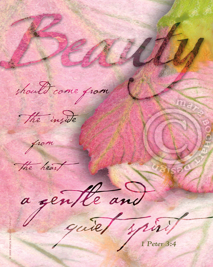Beauty - notecard