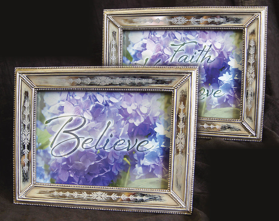 Set of 2: Believe and Faith/Hope/Love