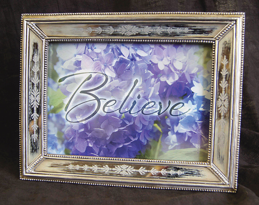Believe - framed 5x7