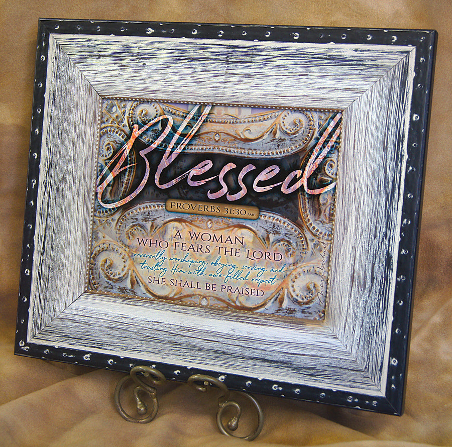 Blessed Woman - framed 8x10