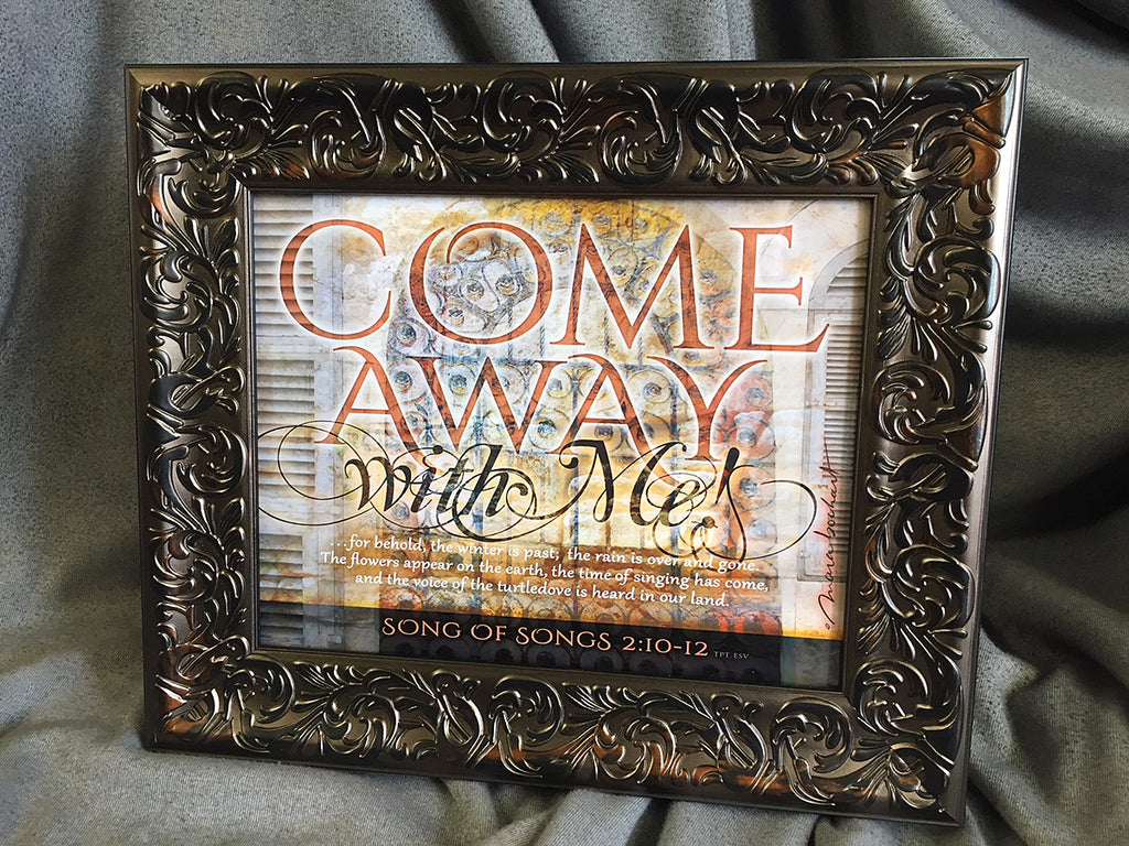 Come Away - framed 8x10