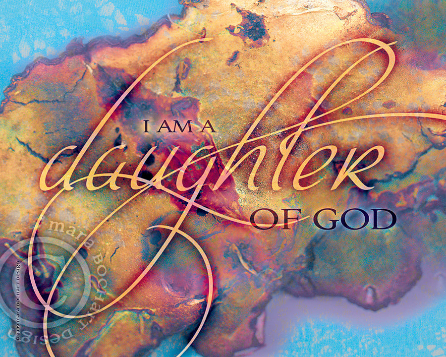Daughter of God - notecard