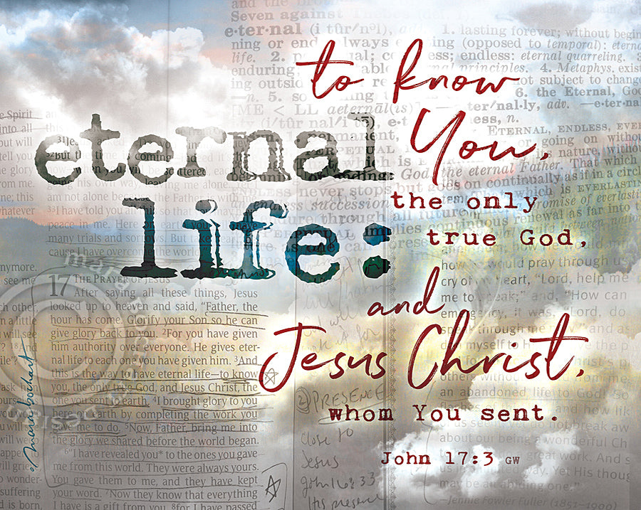 Eternal Life - premium canvas