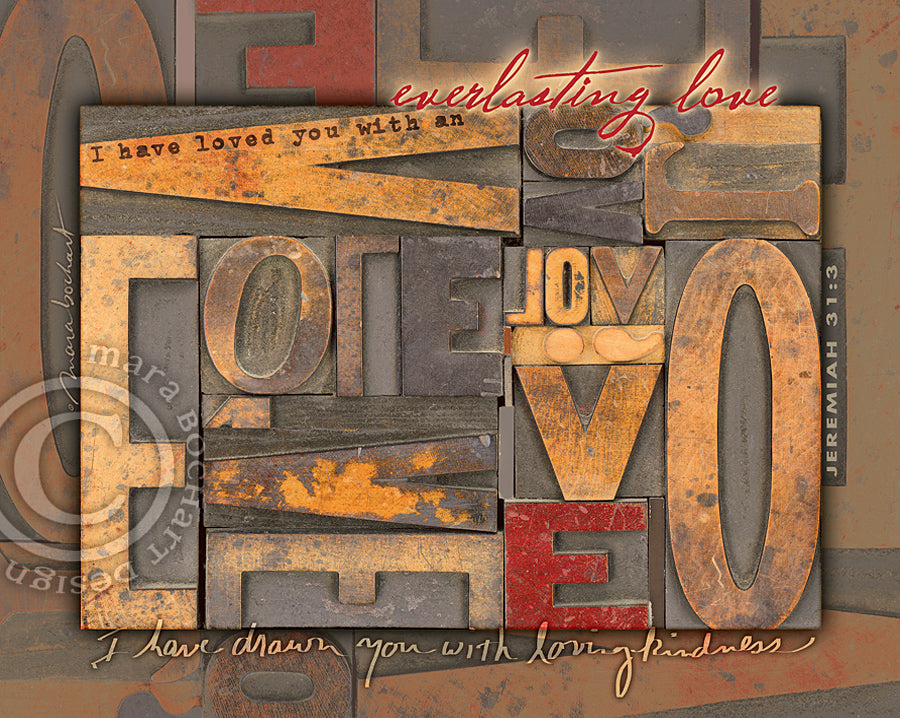 Everlasting Love - canvas - KCS