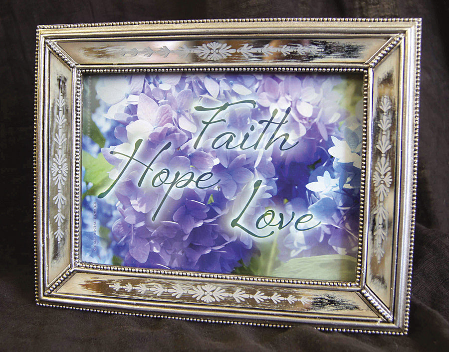 Faith, Hope, Love - 5x7 framed