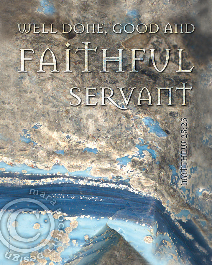 Faithful Servant - frameable print