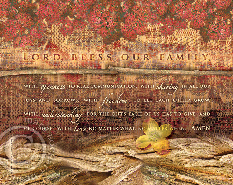 Family Blessing - premium canvas