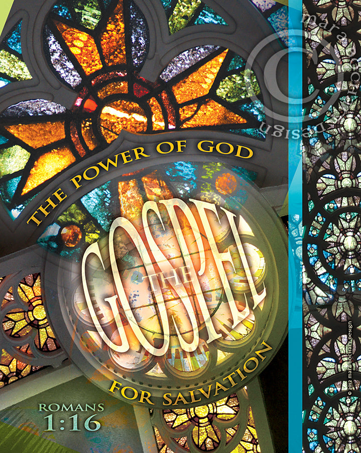 Gospel Power - frameable print
