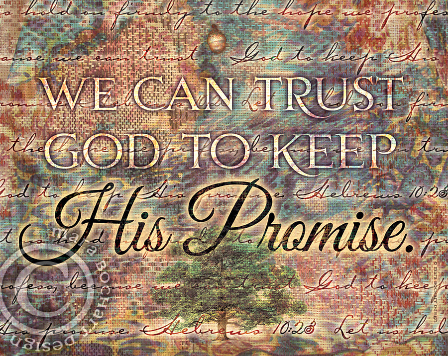 His Promise - frameable print