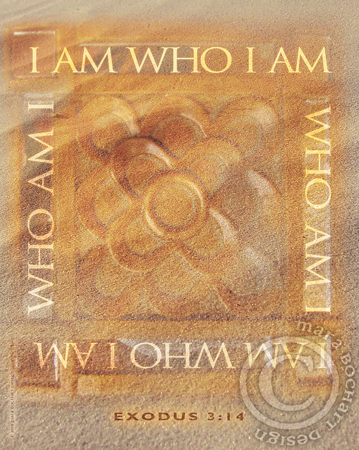 I AM - premium canvas