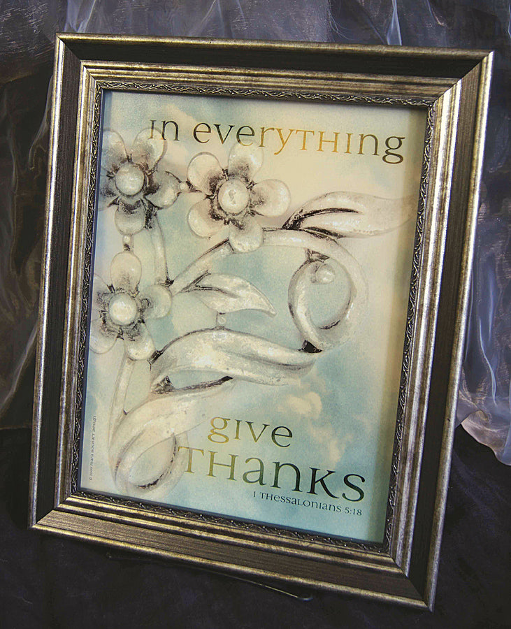 In Everything - framed 8.5x11