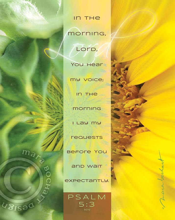 In The Morning - printable download