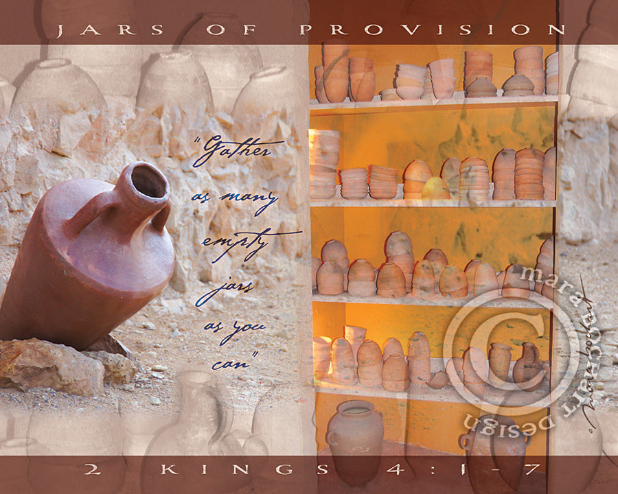 Jars of Provision - frameable print