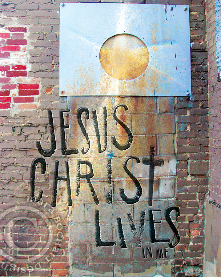 Jesus Christ Lives - frameable print