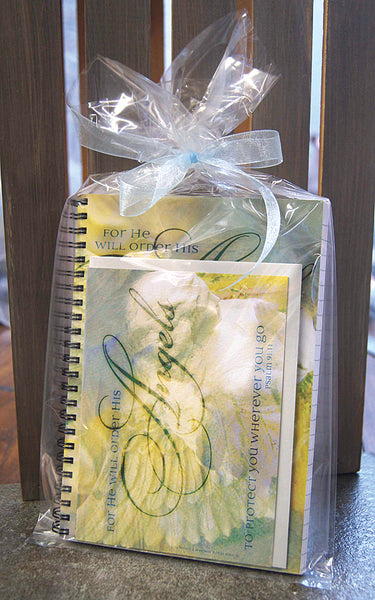 Journal and notecard gift sets