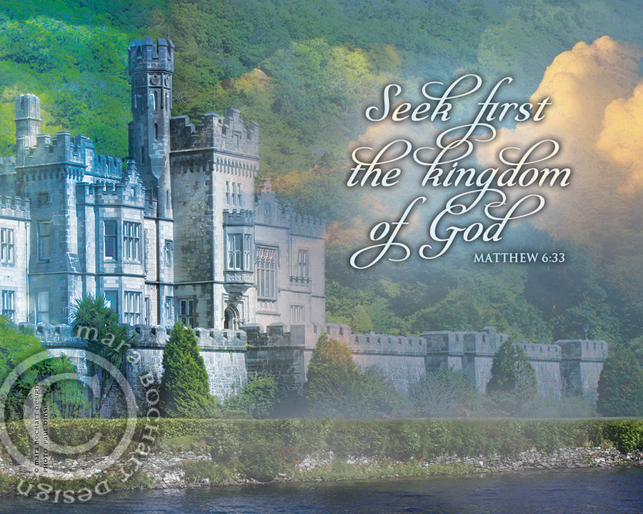 Kingdom of God - notecard