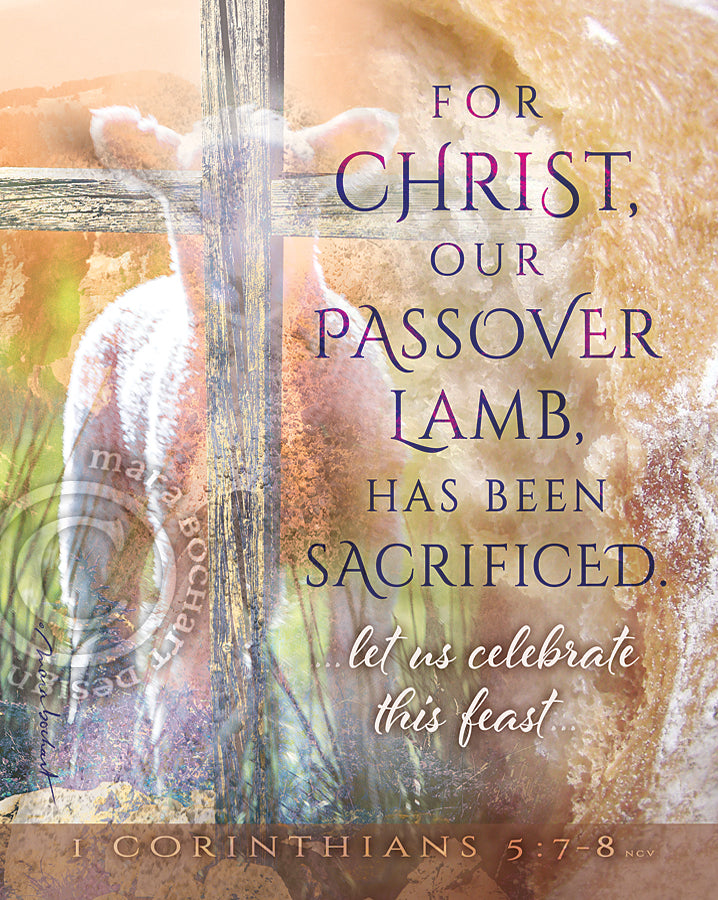 Passover Lamb - frameable print