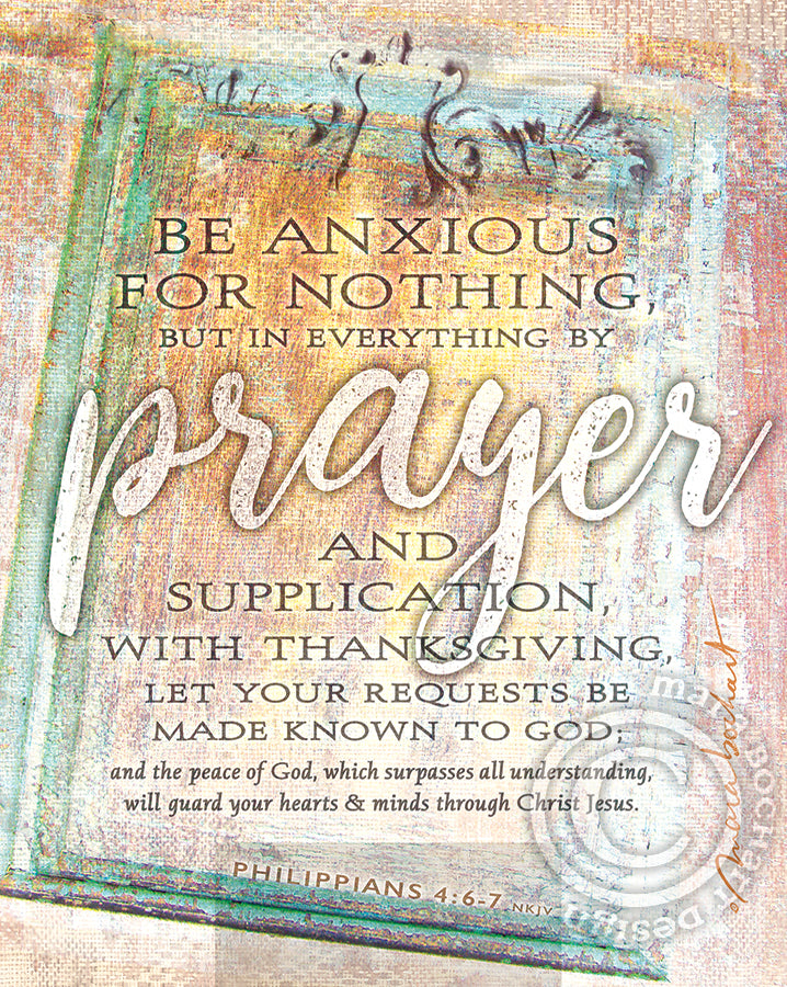 Prayer - frameable print