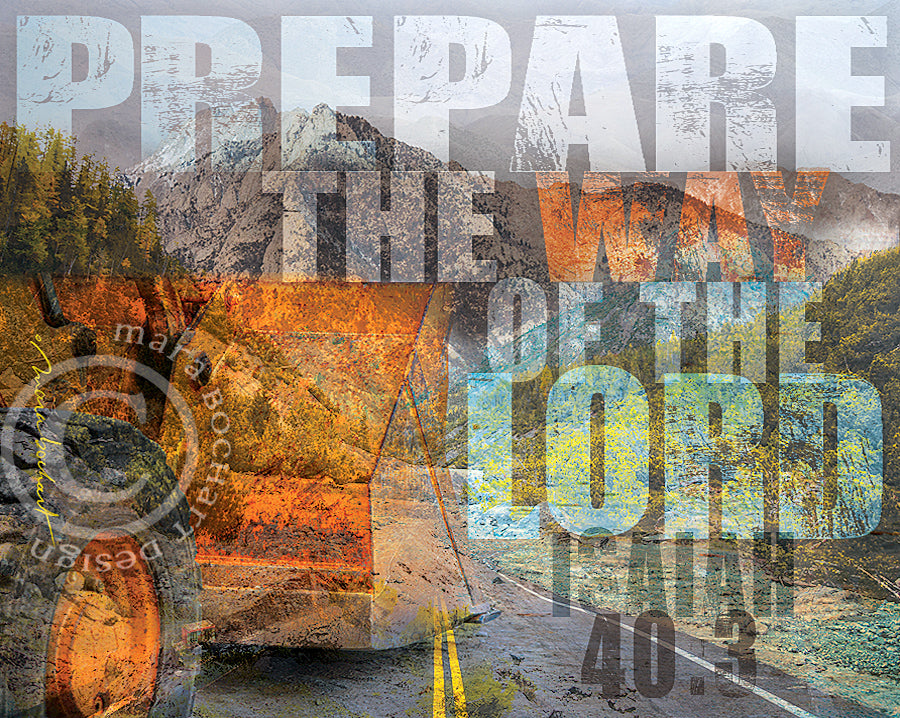 Prepare The Way - premium canvas