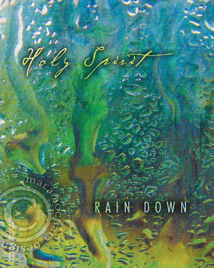 Rain Down - premium canvas