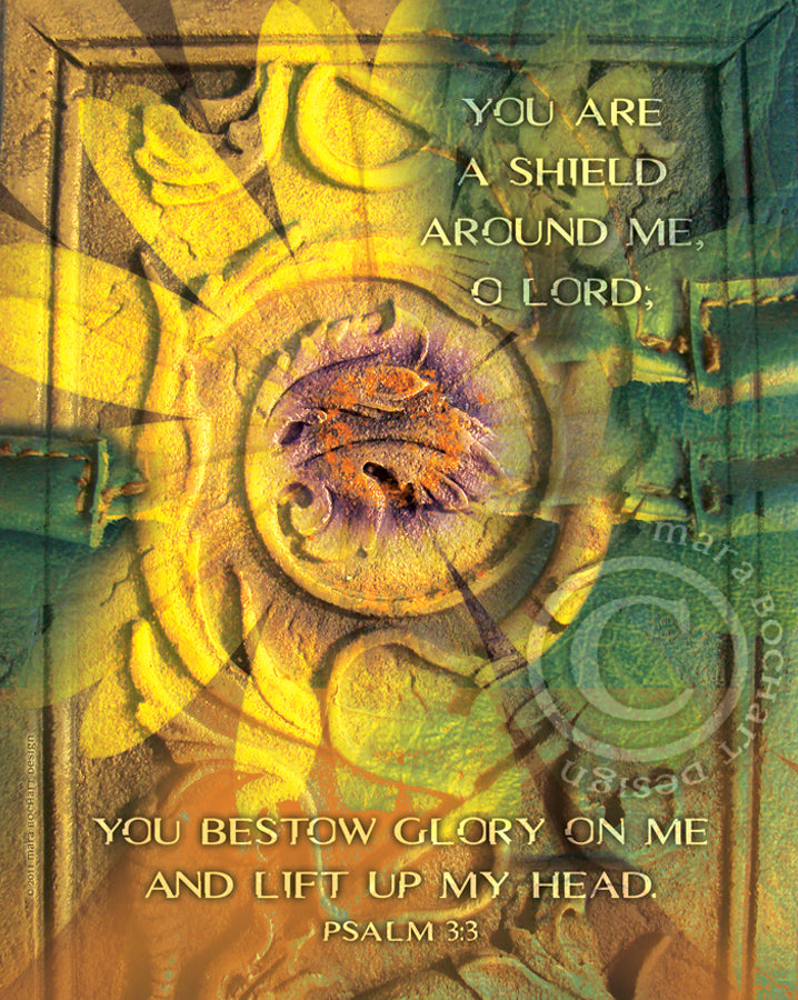 Shield Around Me - frameable print