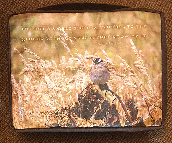 Single Sparrow Bible Case Shine Living