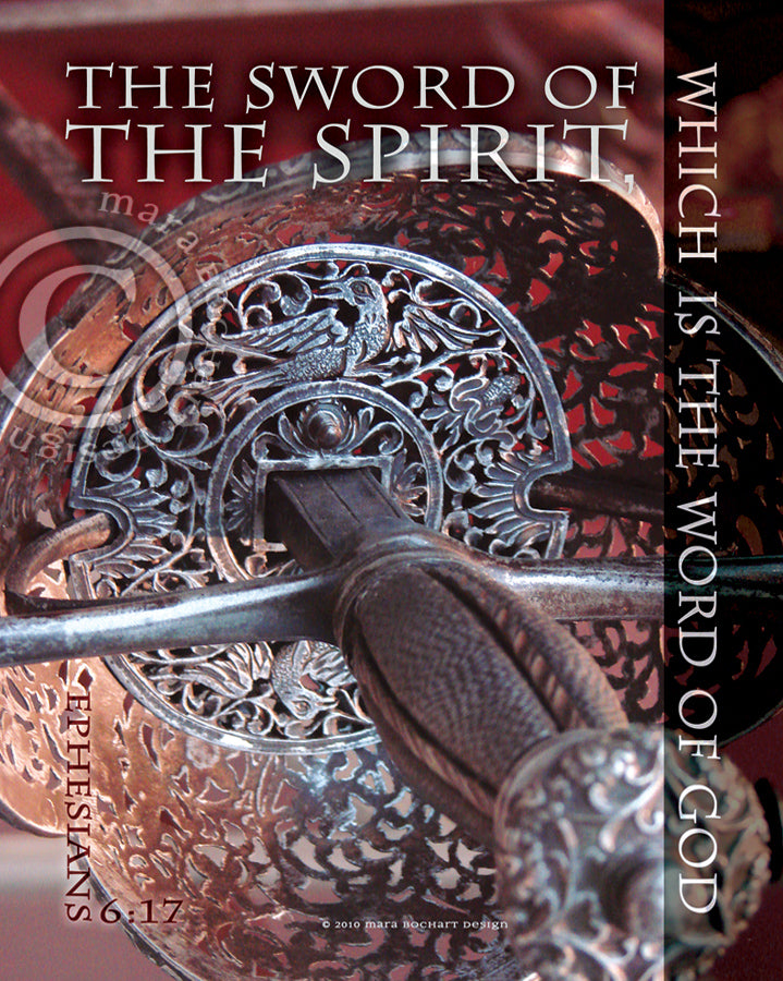 Sword of the Spirit - journal & notecard gift set