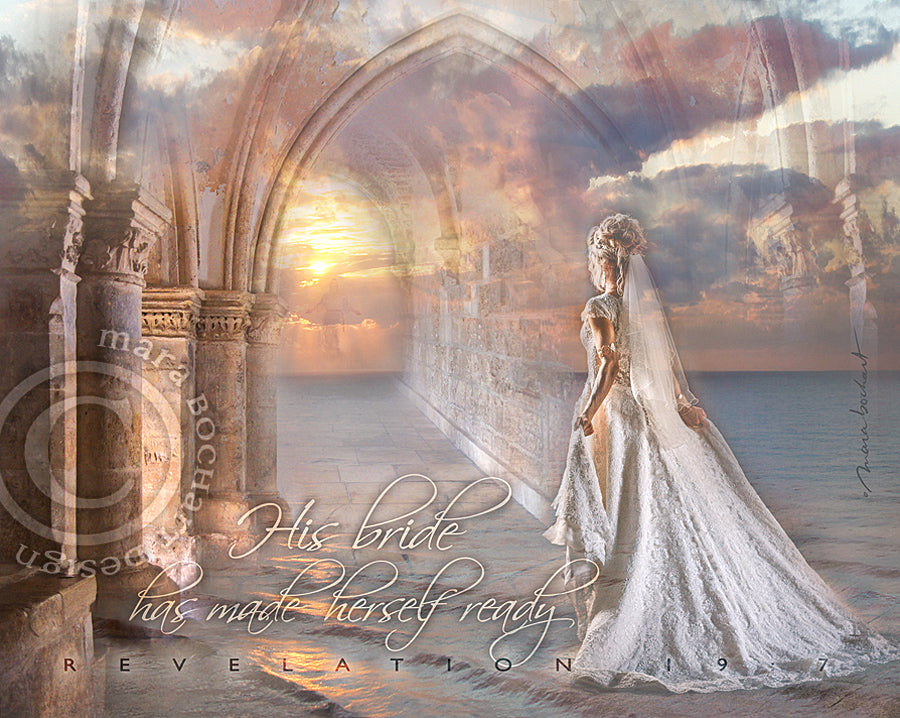 His Bride - frameable print