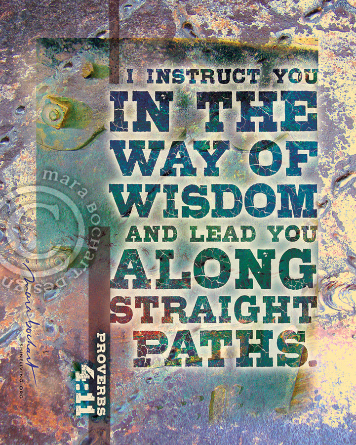 Way of Wisdom - frameable print