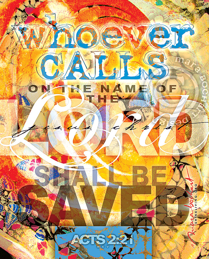 Whoever Calls - hanging banner