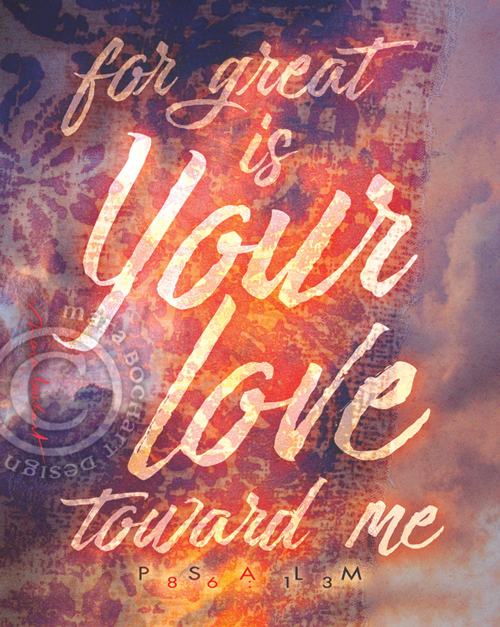 Your Love - frameable print